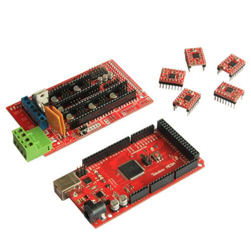 3D Printer Electronic Kits Mega R3/&RAMPS1.4/&A4988 Stepstick Stepper Driver Prusa