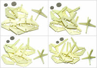 24pc Tyco Slot Car 2 3 4 5 Glow In The Dark Track Elevation Bridge Supports