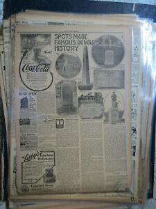 Coca Cola Newspaper Ad DAYTON IOWA + SPOTS MADE FAMOUS IN WARS HISTORY