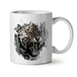 Wild Animal Tiger NEW White Tea Coffee Mug 11 oz | Wellcoda