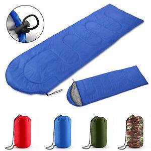 4SEASON-SLEEPING-BAG-WATERPROOF-SINGLE-SUIT-CASE-CAMPING-HIKING-OUTDOOR-ENVELOPE