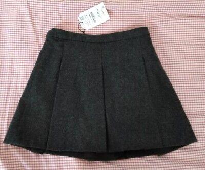 Acquista A Buon Mercato Zara Girls Grey Misto Lana Gonna Scuola Età 11-12 Anni 11-12 Anos Eur 152cm-mostra Il Titolo Originale Sconti