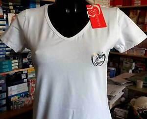 shirt argento Baci Abbracci V logo piccolo a Art B con Ba02113 T V Scollo d1nZFdv
