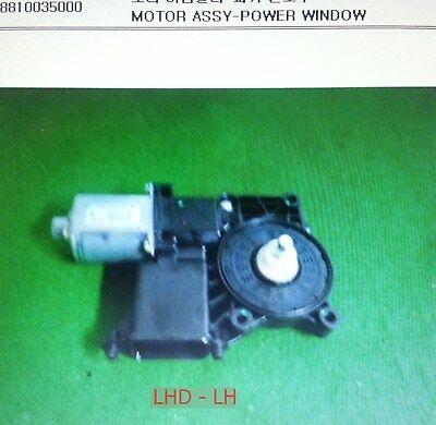 Genuine FRONT POWER WINDOW MOTOR/&REGULATOR-RH Ssangyong KORANDO #8810006040+