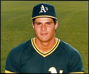 Jose-Canseco-1986-Rookie-Oakland-A-039-s-Color-Type-1-Original-Photo-Crystal-Clear