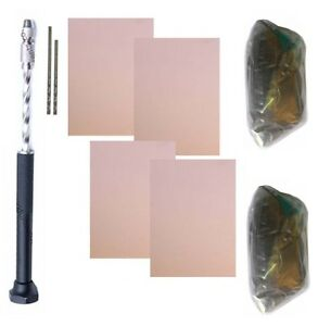 Ferric-Chloride-Copper-PCB-PCB-Driller-PCB-Drill-Bit-kit-Circuit-Designing-Kit