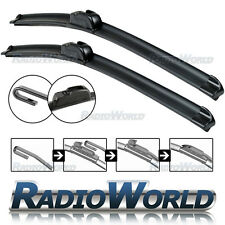 "U-Hook Aero Front Window / Windscreen Car Wiper Blade 26"" 22"" Pair Upgrade"