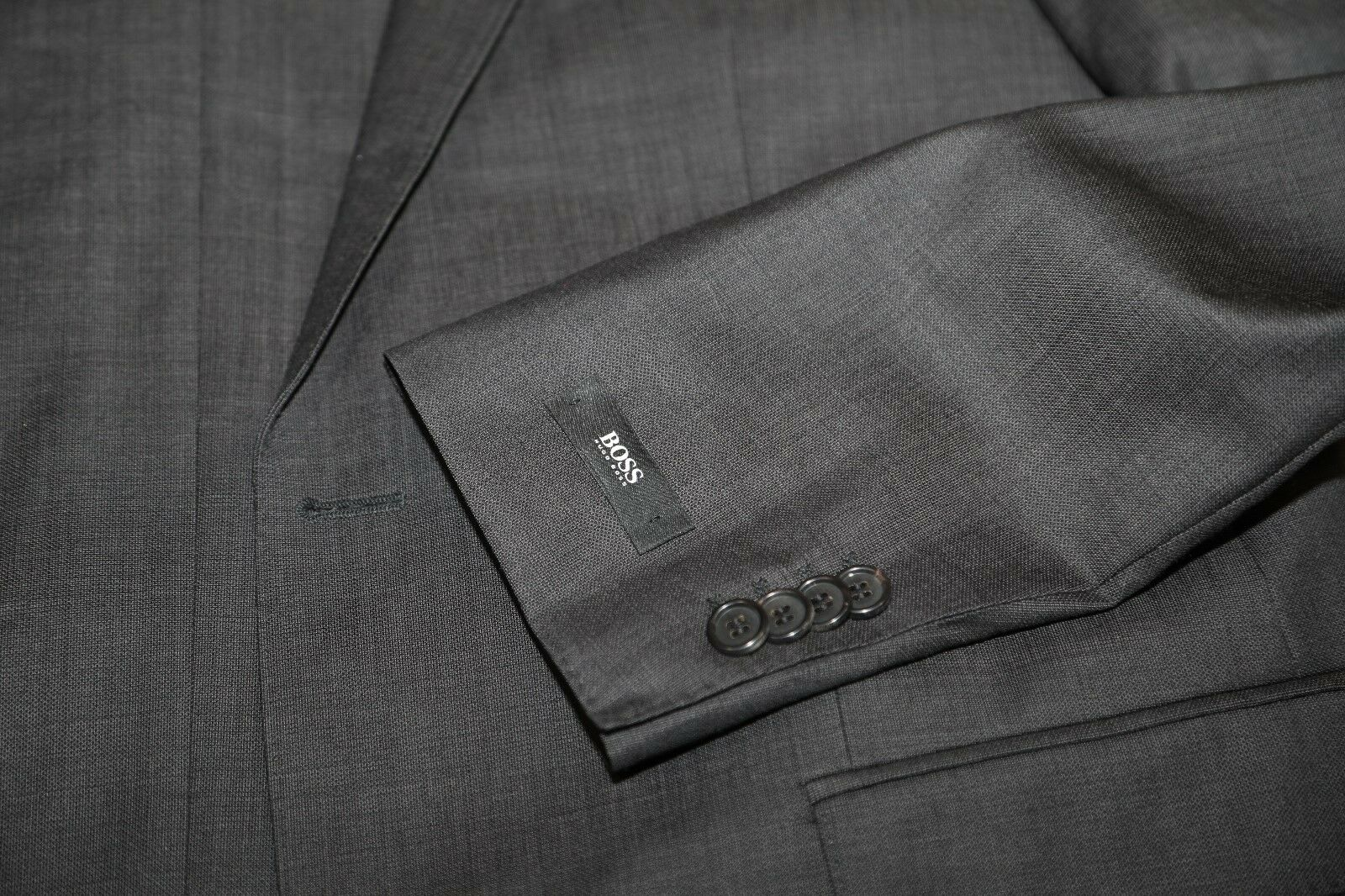 9 HUGO BOSS The Jam75/Sharp1 Braun Suit Größe 42 L