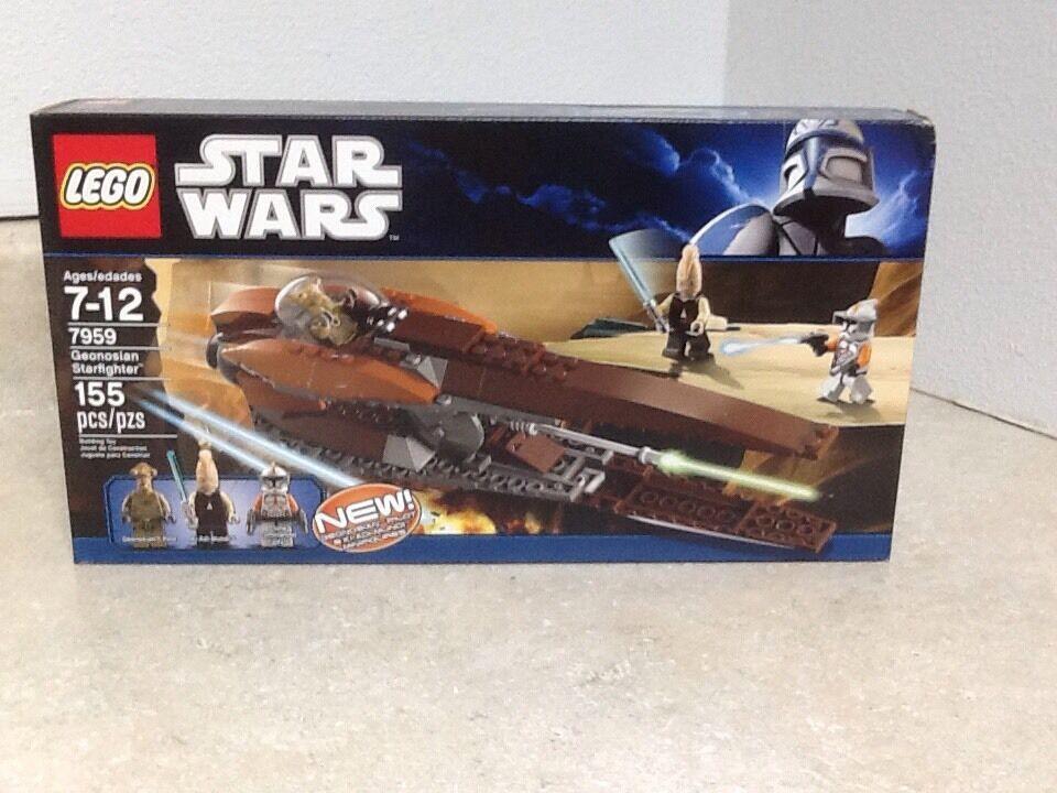 Lego Star Wars Geonosian Starfighter 7959 RetiROT