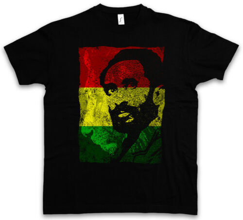HAILE SELASSIE PORTRAIT III T-SHIRT Lion of Judah Ethiopia Rastafari Jamaika
