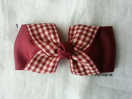 for girls.... made with french clip barrette Jemlana/'s handmade Hair clips