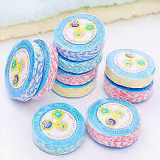 Magic Towels Tissues Set of 10 Pcs Compressed for Travel