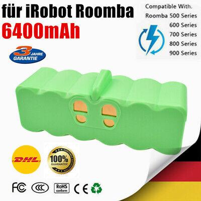 GC Ersatzakku 80501 für iRobot Roomba 582 581 595 600 610 615 620 621 625 14.4V