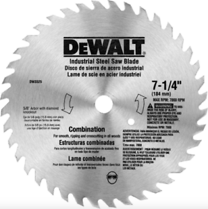 CIRCULAR WOOD SAW BLADE 24 Tooth Power Tool Heavy Duty Anti Friction Coating New
