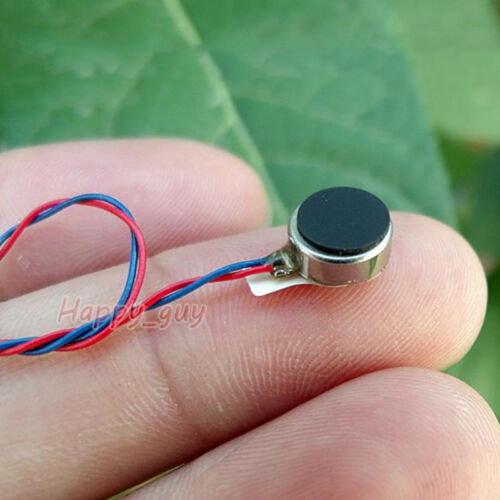DC 3V Mobile Phone Micro Round Coin Flat Vibrating Vibration Motor DIY Toy Parts