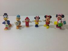 Disney Minnie Mouse & Donald Duck Kellogg And Applause Figurines Lot Of 6 Toys