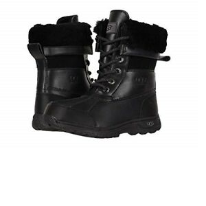 87d1113db66 Details about UGG Kids Butte II Cwr Black Snow Boot - Girls *100% Authentic  *New**