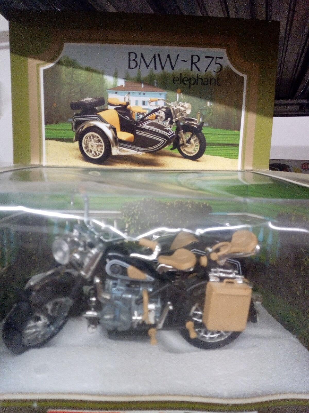 Bmw Bmw Bmw r75 sidecar scale 1 15, vintage Polistil DIECAST, New en Box-en su embalaje original e30e46
