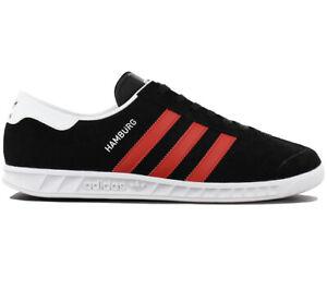 adidas Originals Hamburg Herren Sneaker Schwarz BB5300 Schuhe Turnschuhe NEU