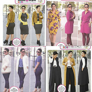 New-Simplicity-Sewing-Pattern-Mimi-G-Style-Misses-Fall-You-Pick