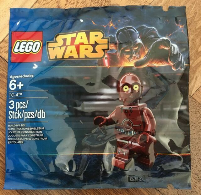LEGO 5002122 Star Wars TC-4 Droid Red Limited Edition Figur Polybag