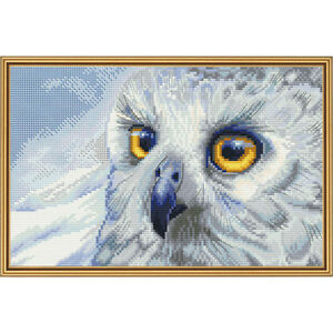 Cross Stitch Kit Harfang des neiges HB5510-Y 							 							</span>
