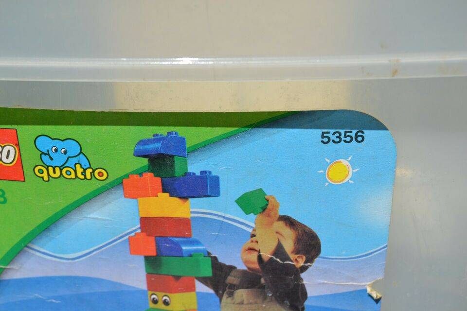 Lego Quatro, GAMMEL QUATRO spand