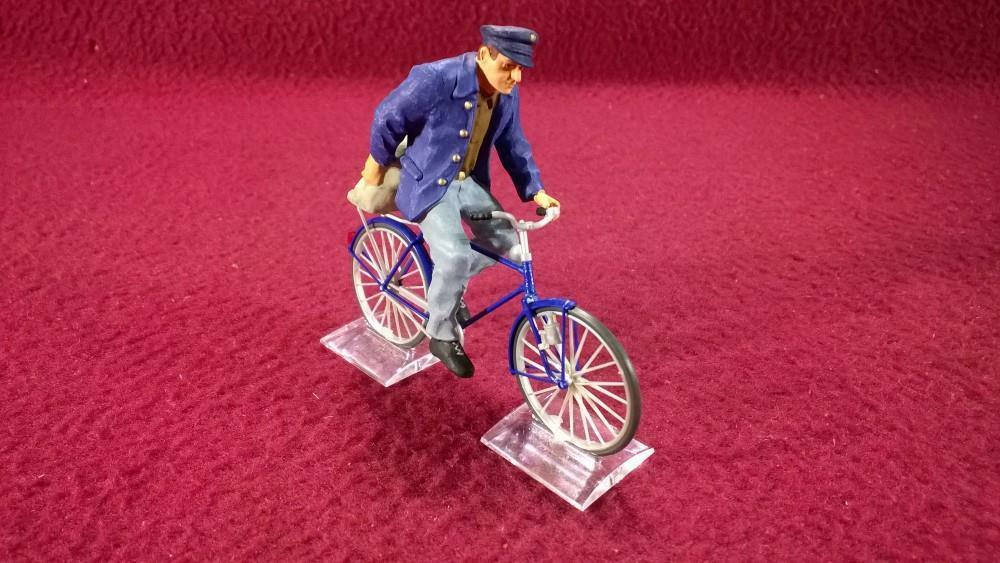 PREISER G-SCALE FIGURE(S) - 45067 MAN ON A BICYCLE BICYCLE BICYCLE 9ff7f3