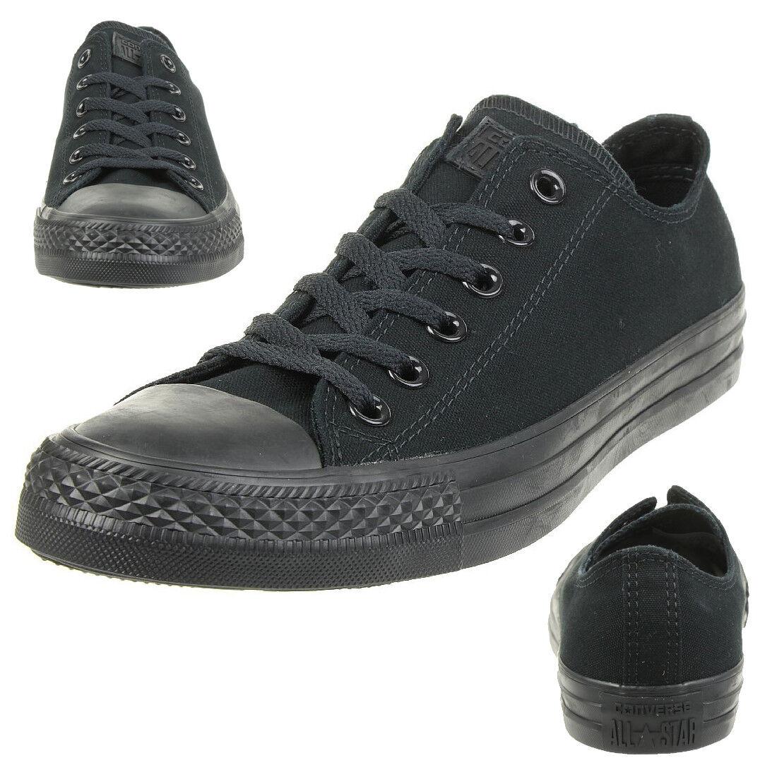 Converse All Star OX Chuck Schuhe Sneaker canvas Black Monochrome M5039C