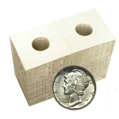 100 2x2 ROOSEVELT Dime Mylar Cardboard Coin Holder Flip BCW Storage Case 18mm