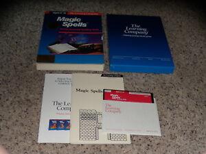 Magic-Spells-Program-Apple-II-Series-IIc-IIe-IIGS-5-25-034-floppy-disk-with-box