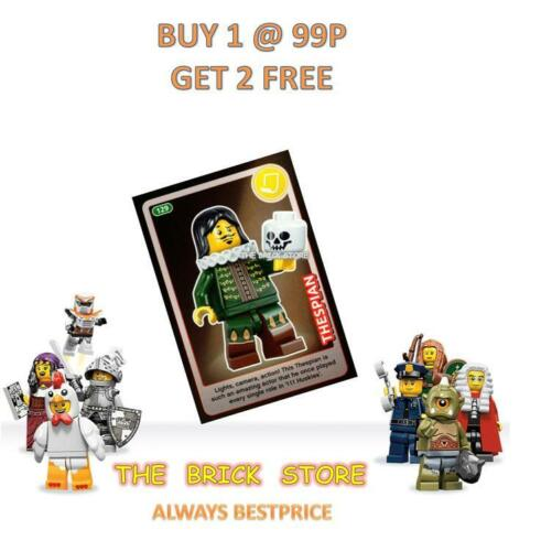 BESTPRICE GIFT THESPIAN #129 LEGO CREATE THE WORLD TRADING CARD NEW