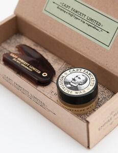 Captain-Fawcett-Sandalwood-Moustache-Wax-amp-Folding-Pocket-Comb-87T