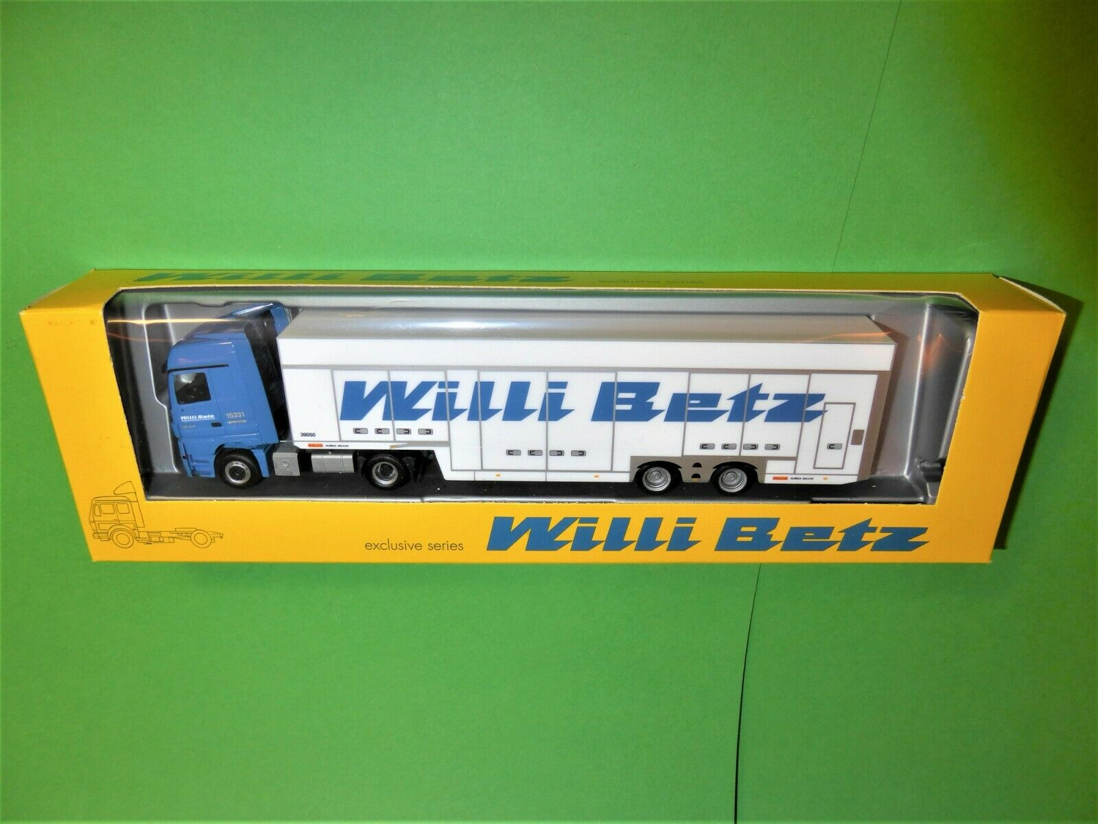 HERPA  Willi Betz 15331 39050  ROLFO  MB Actros LH MP3 1 87 TOP&OVP