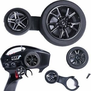 For-Traxxas-TRX-4-DJC-9173-Steering-Rod-Joystick-Control-Wheel-TQi-Transmitter