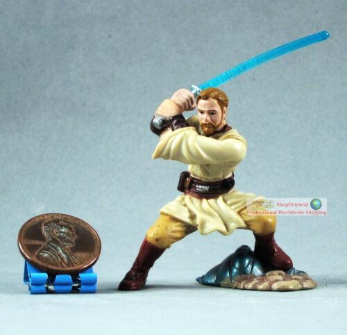Hasbro Star Wars 1:32 Soldier Action Figure Obi-Wan Kenobi Ben Jedi Master S84