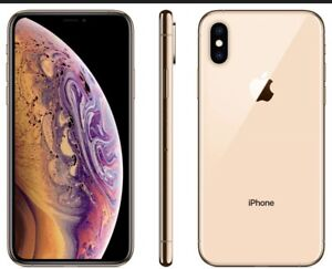 Apple iPhone XS 64GB Fully Unlocked AT&T T-Mobile Verizon Gold