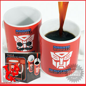 TRANSFORMERS-Mug-Thermique-Robots-in-Disguise-Heat-Change-NEUF