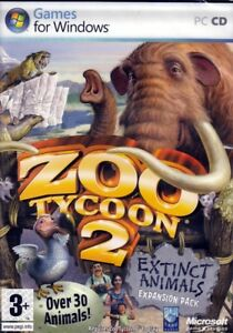 Details about Zoo Tycoon 2: Extinct Animals (PC Game) Expansion Pack FREE  US Shipping - NEW