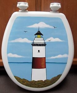 HP LIGHTHOUSE TOILET SEAT//SOFT SEAT ONLY //SPECIAL PRICE