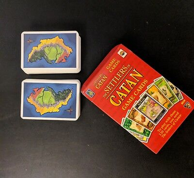 Full Deck of Settlers of Catan Cards - 4th Edition