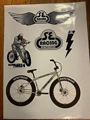 """3/"""" SE RACING Scot Breithaupt  BMX  MTB  Bike Ride Run Outdoor STICKER DECAL"""
