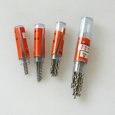 New 10pcs Straight Shank HSS Twist Micro Drill Set 1.0-1.9mm 0.3-0.9mm 2.1-3.0mm