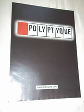 PUB BD / QUESTIONNAIRE / COLLECTION POLYPTYQUE / LE LOMBARD...