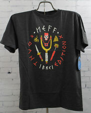 New Neff Boys Youth Thug Addition Short Sleeve T-Shirt Medium Charcoal Heather