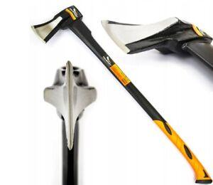 Axt-Beil-Spalthammer-Spaltbeil-Spaltaxt-Universal-Spaltkeil-Axt-1500g-860mm