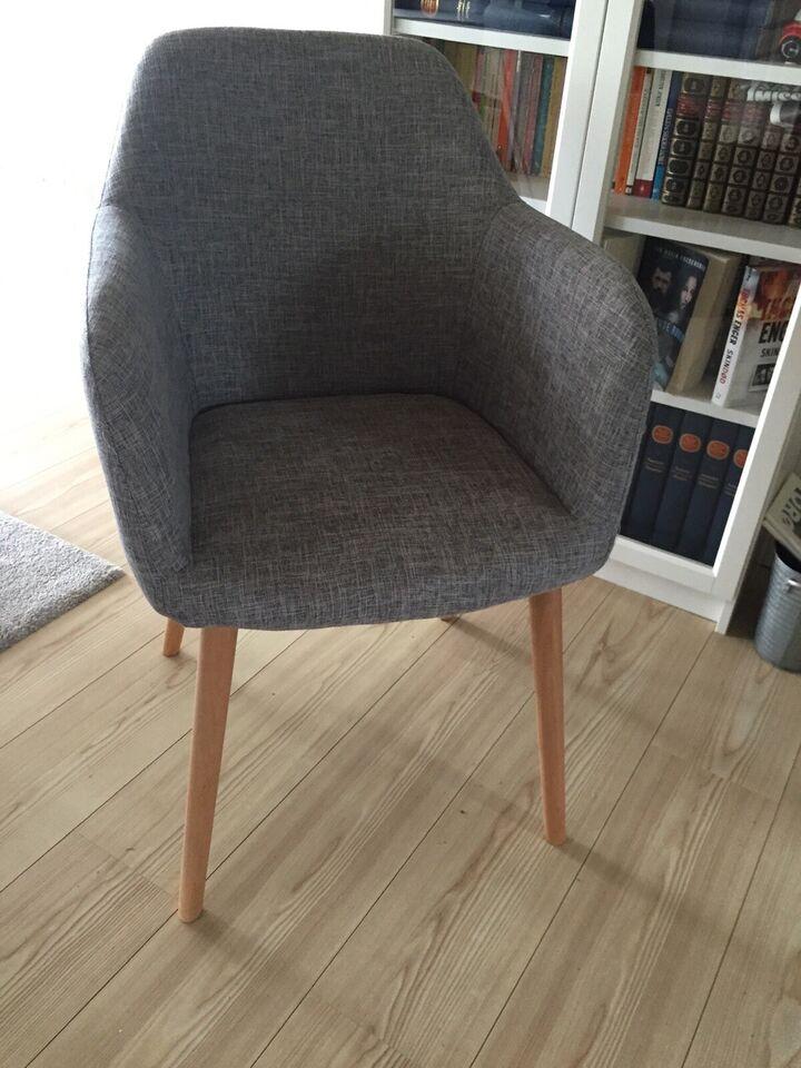 Spisebordsstol, Stof, b: 55
