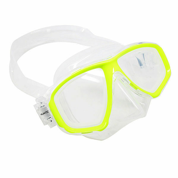 Scuba Yellow Dive  Mask FARSIGHTED Prescription RX Optical FULL Lenses  stadium giveaways