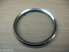 SMITHS SPEEDO STAINLESS STEEL REPLACEMENT RIM AND GLASS LENSE. 85MM DIAMETER.NEW