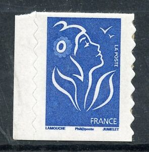 STAMP-TIMBRE-FRANCE-N-4127-MARIANNE-DE-LAMOUCHE-AUTOADHESIF